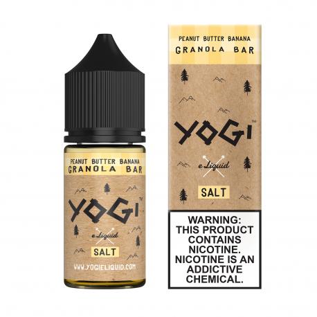 Yogi Peanut Butter Banana Granola Bar Salt Likit 30ml