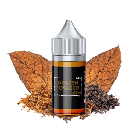 Golden Tobacco Saltica Salt Likit