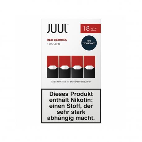 Juul Red Berries 18 mg/ml
