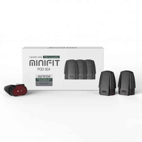 Justfog Minifit Kartuş 3'lü Paket