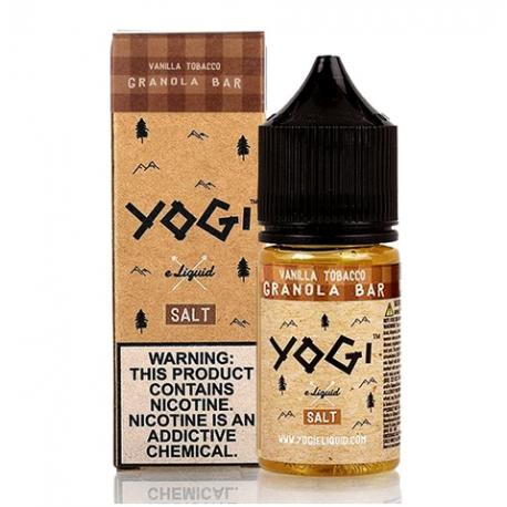 Yogi Vanilla Tobacco Granola Bar Salt Likit 30ml