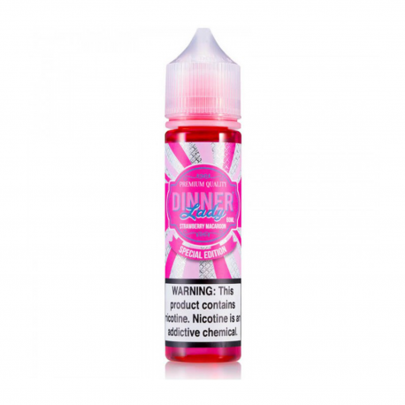 Dinner Lady Strawberry Macaroon E-Likit 60ml