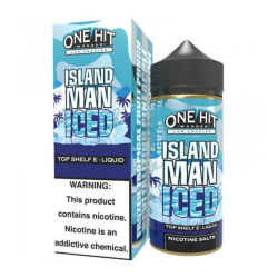 One Hit Wonder Island Man Iced E-Likit 100ml