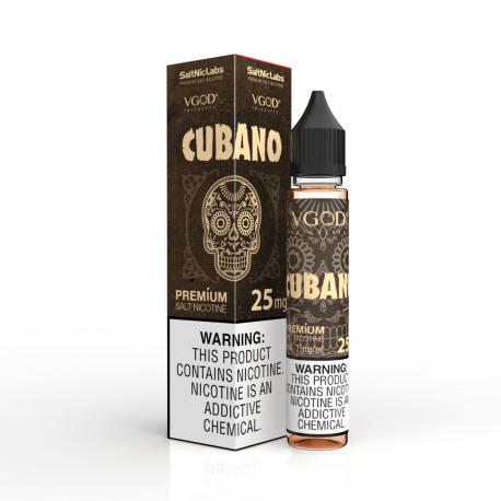 Vgod Cubano Salt Likit 30ml