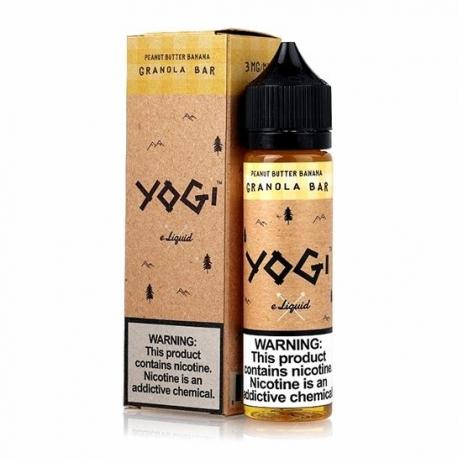 Yogi ELiquid - Peanut Butter Banana Yogi - 60ml