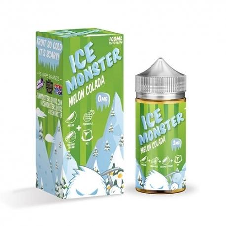Jam Monster E-Juice - Melon Colada Ice - 100ml