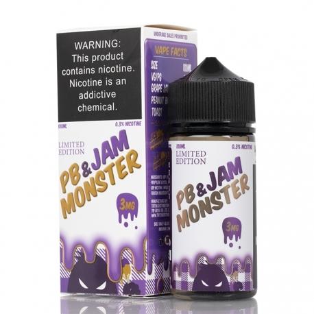 Jam Monster E-Juice - PB & Grape Jam - 100ml